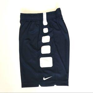 Nike Boy's Elite Stripe Basketball Short, Obsidian